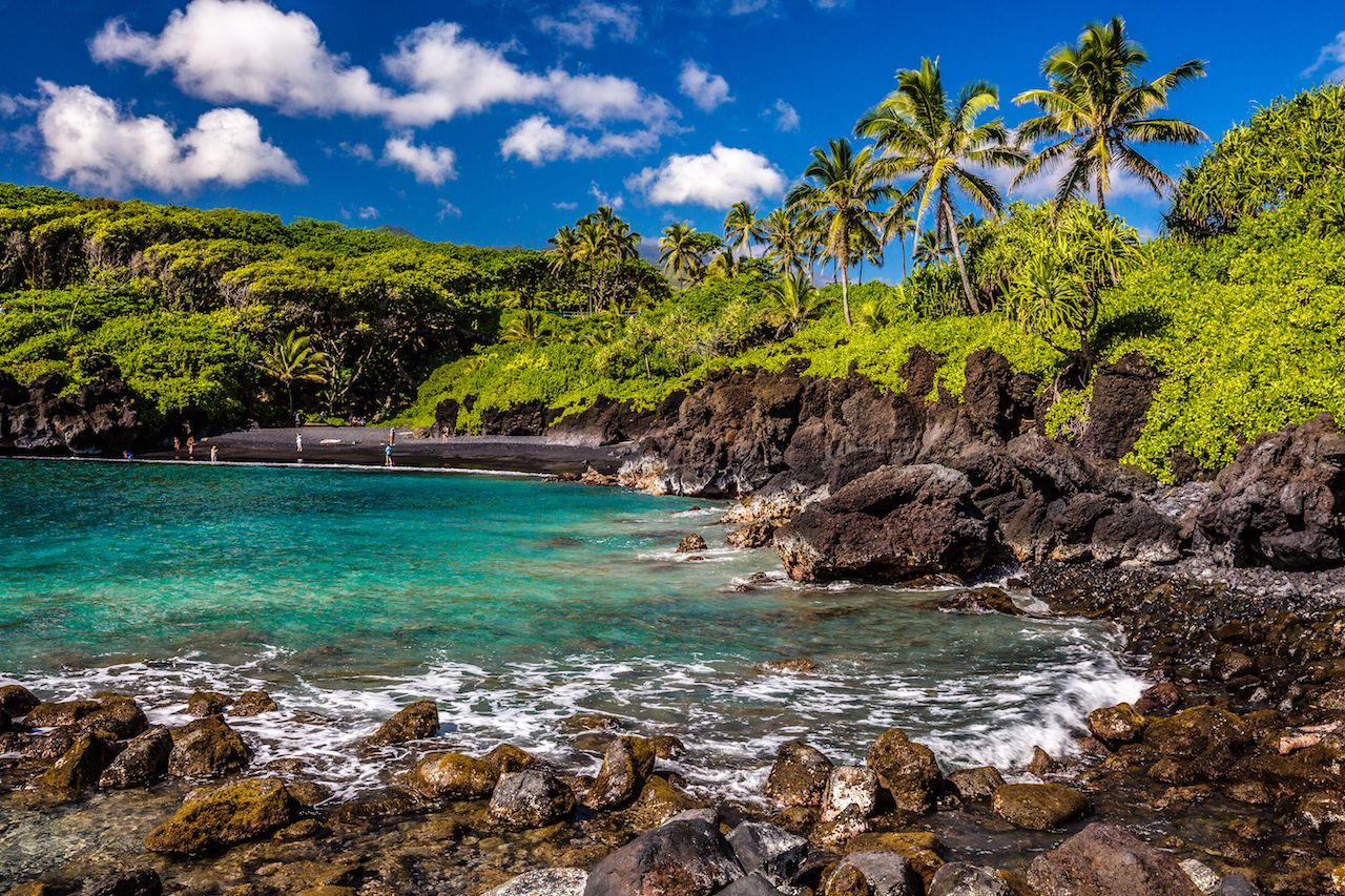 Hana Maui beach