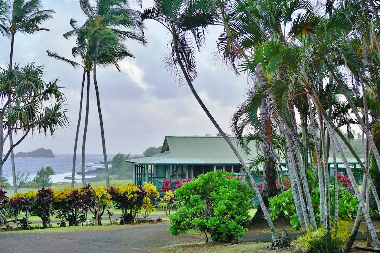 Hana Maui plantation house