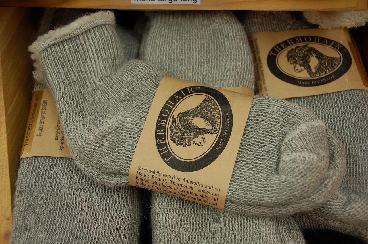 Heim Made Mohair Socks