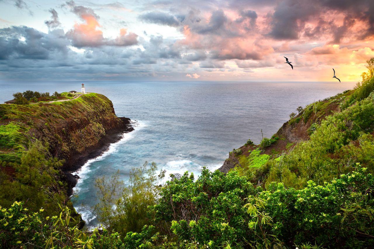 Kilauea Lighthouse and Wildlife Refuge, Kauai, Hawaii