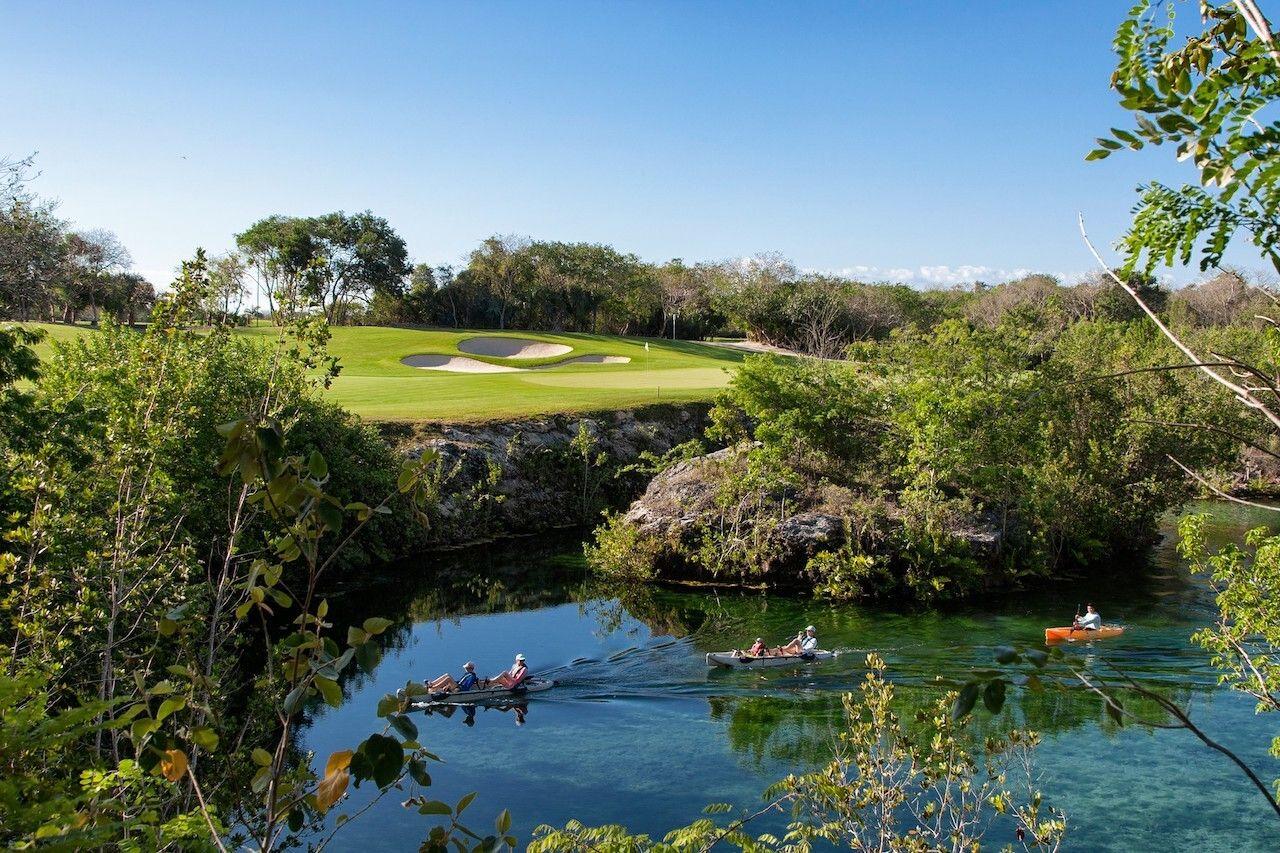 Mayakoba golf Mexico