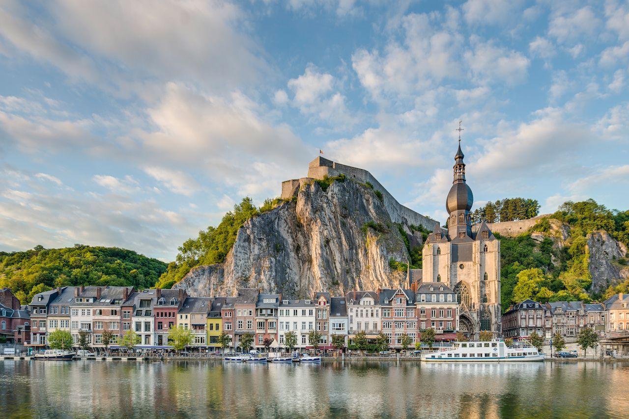Meuse River, Dinant, Belgium