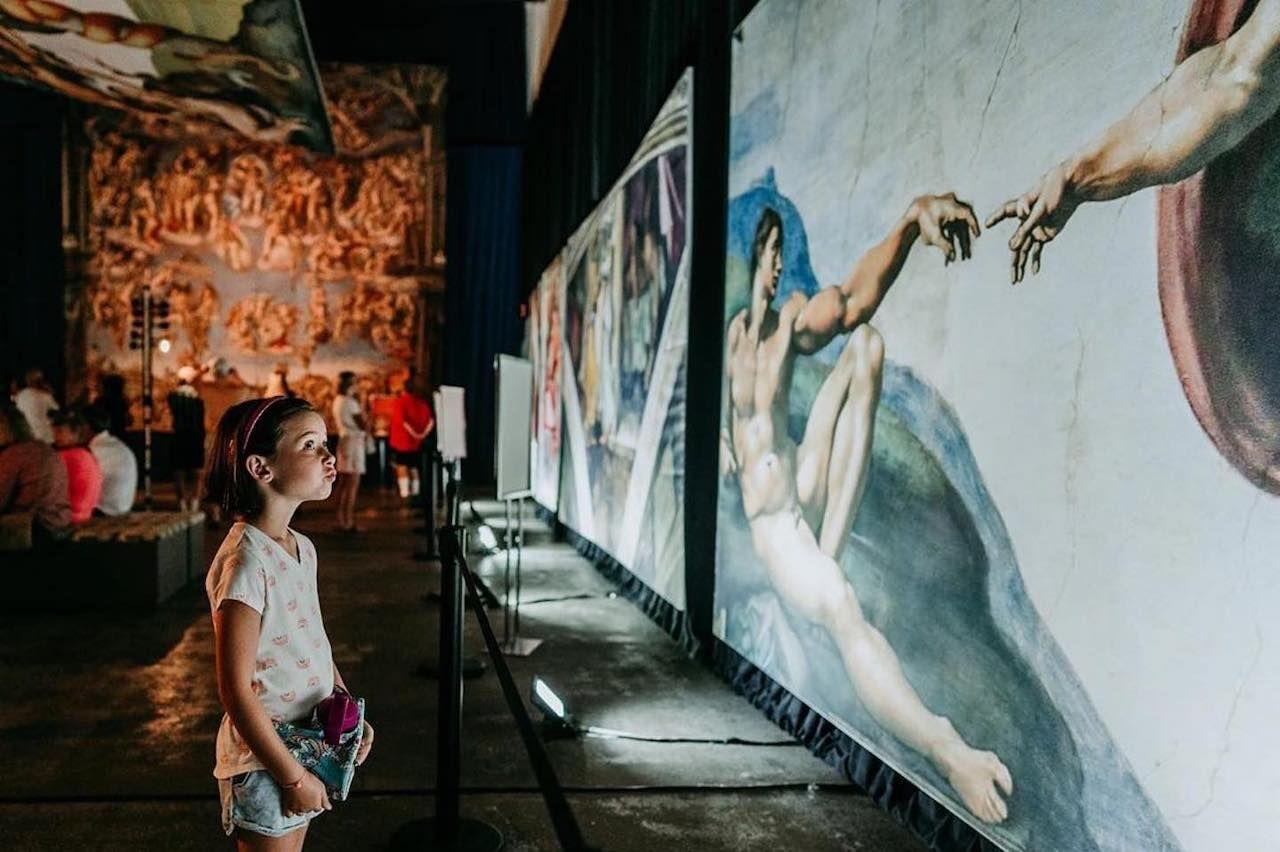 Michelangelo exhibit