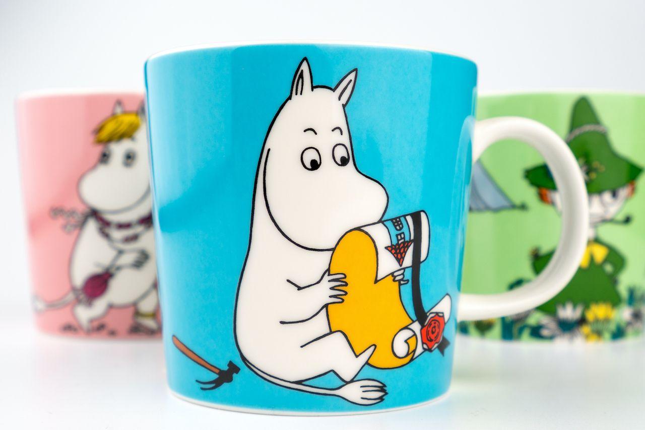 Moomin collectible mugs