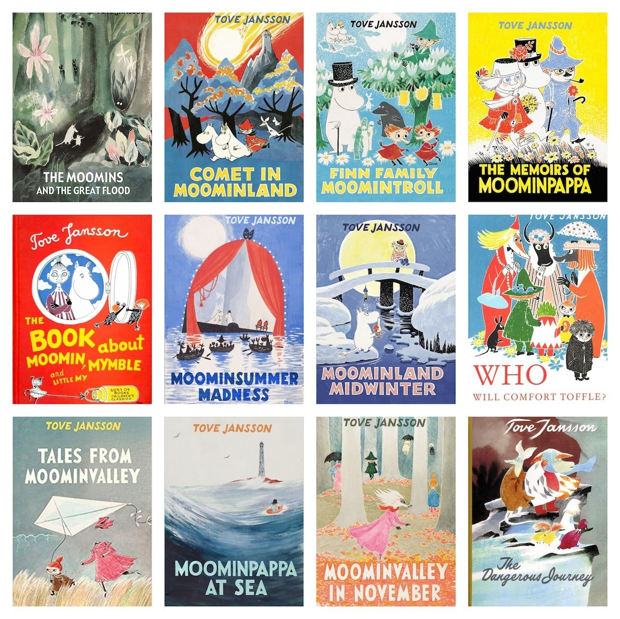 Moomins, Finnish cartoons