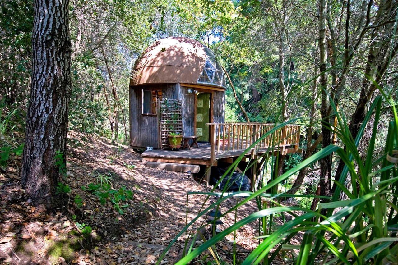 Mushroom dome Aptos California