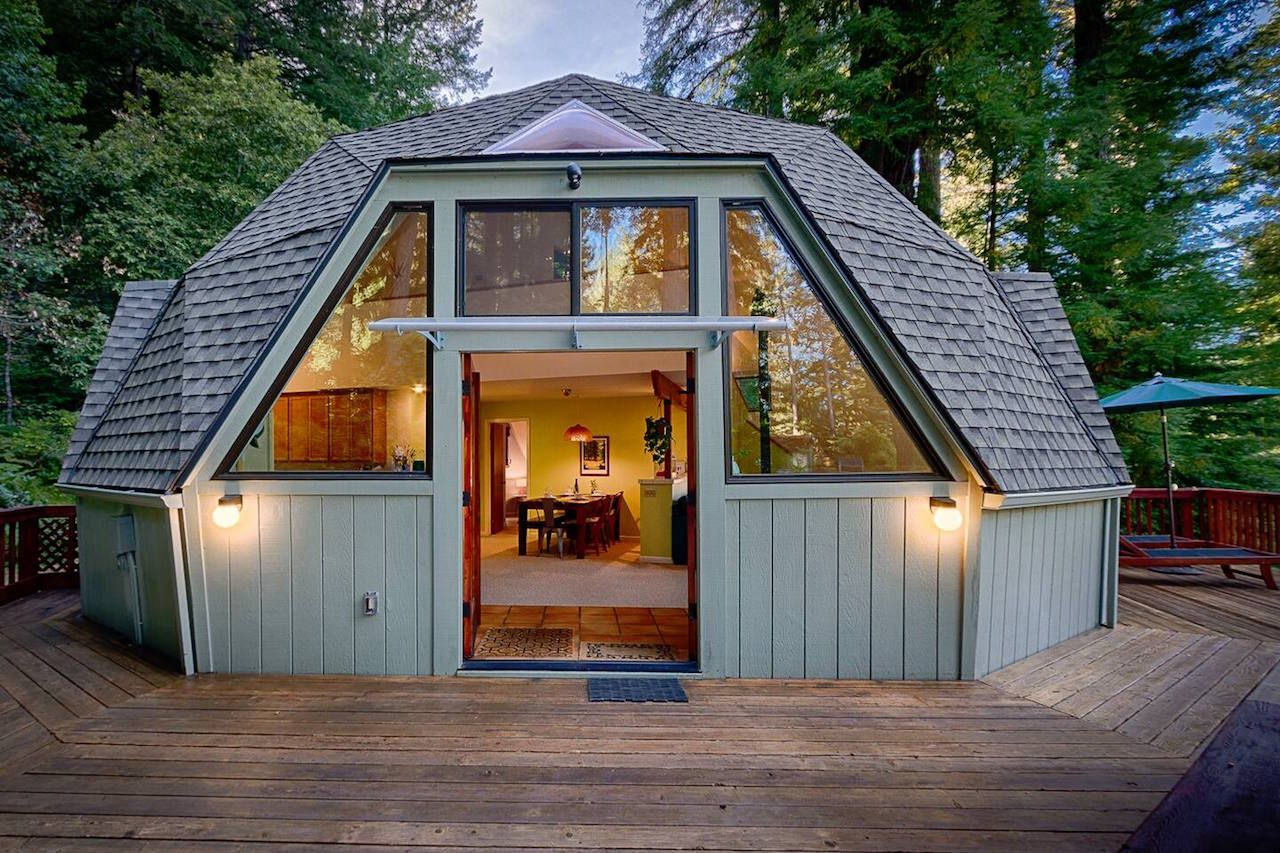 Redwood Dome California Airbnb