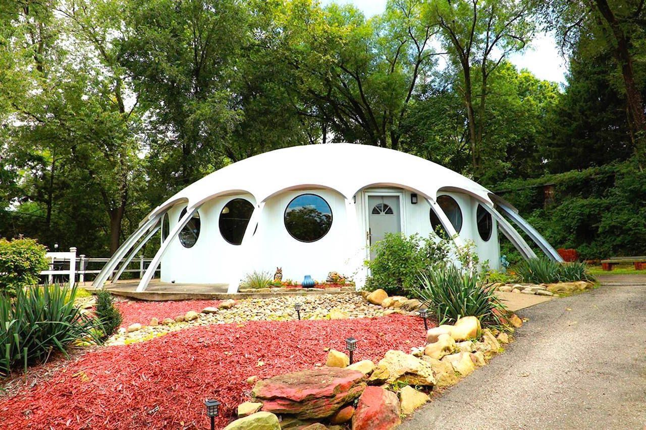 Spaceship-inspired dome in Pittsburg, Pennsylvania