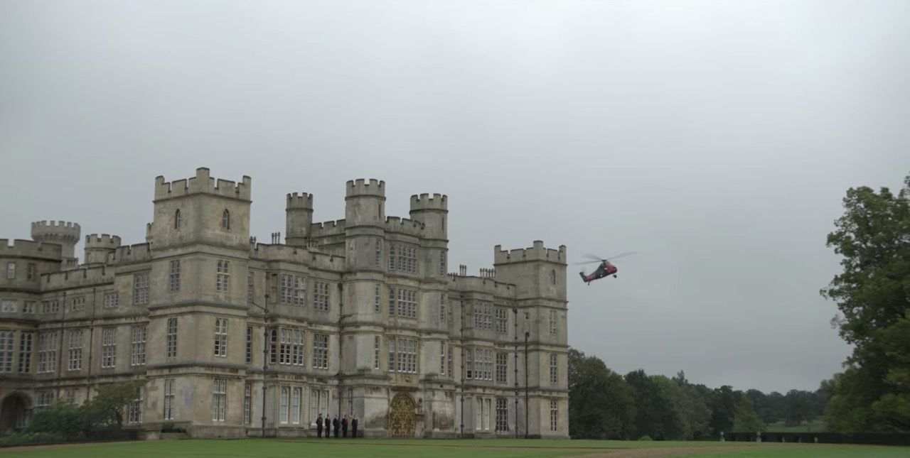 Windsor Castle in The Crown Season 4