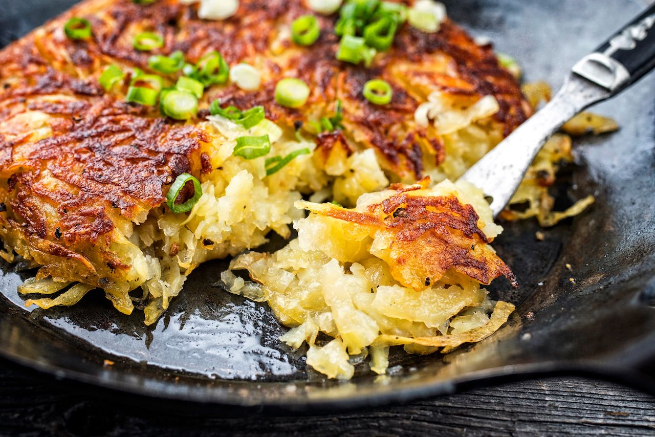 swiss rosti potatoes