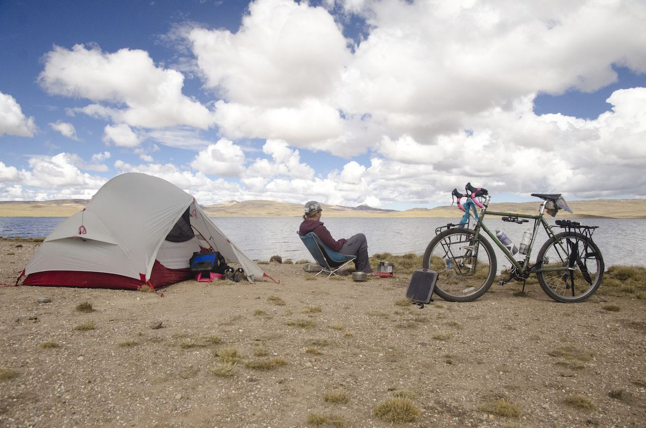 Camping in Andes