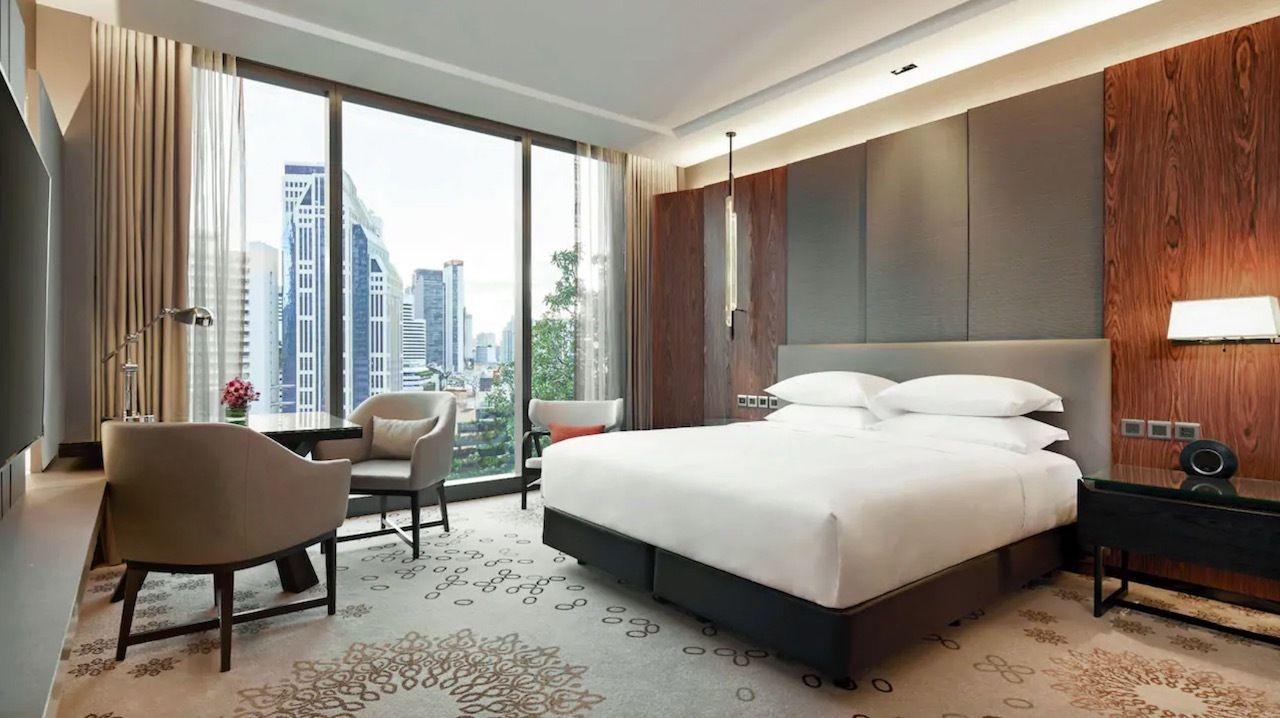 Hyatt hotel in Bangkok