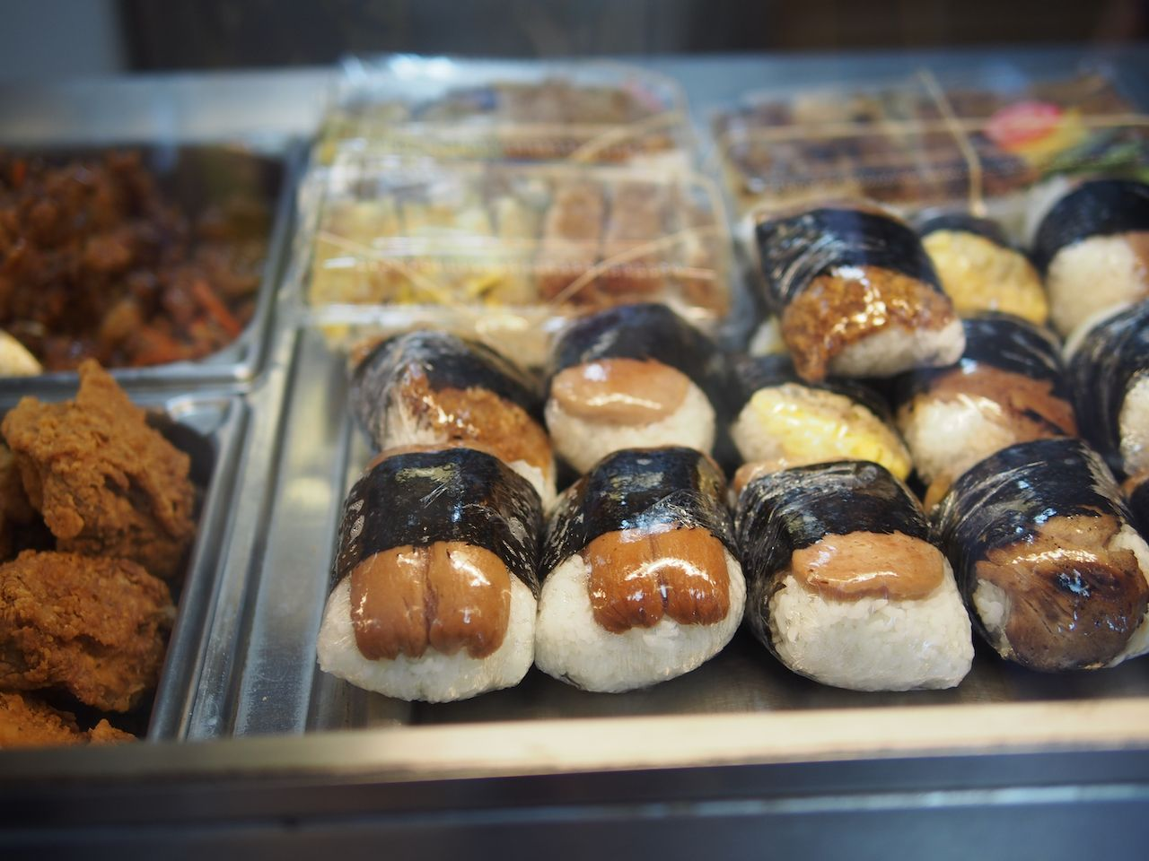 Display of musubi