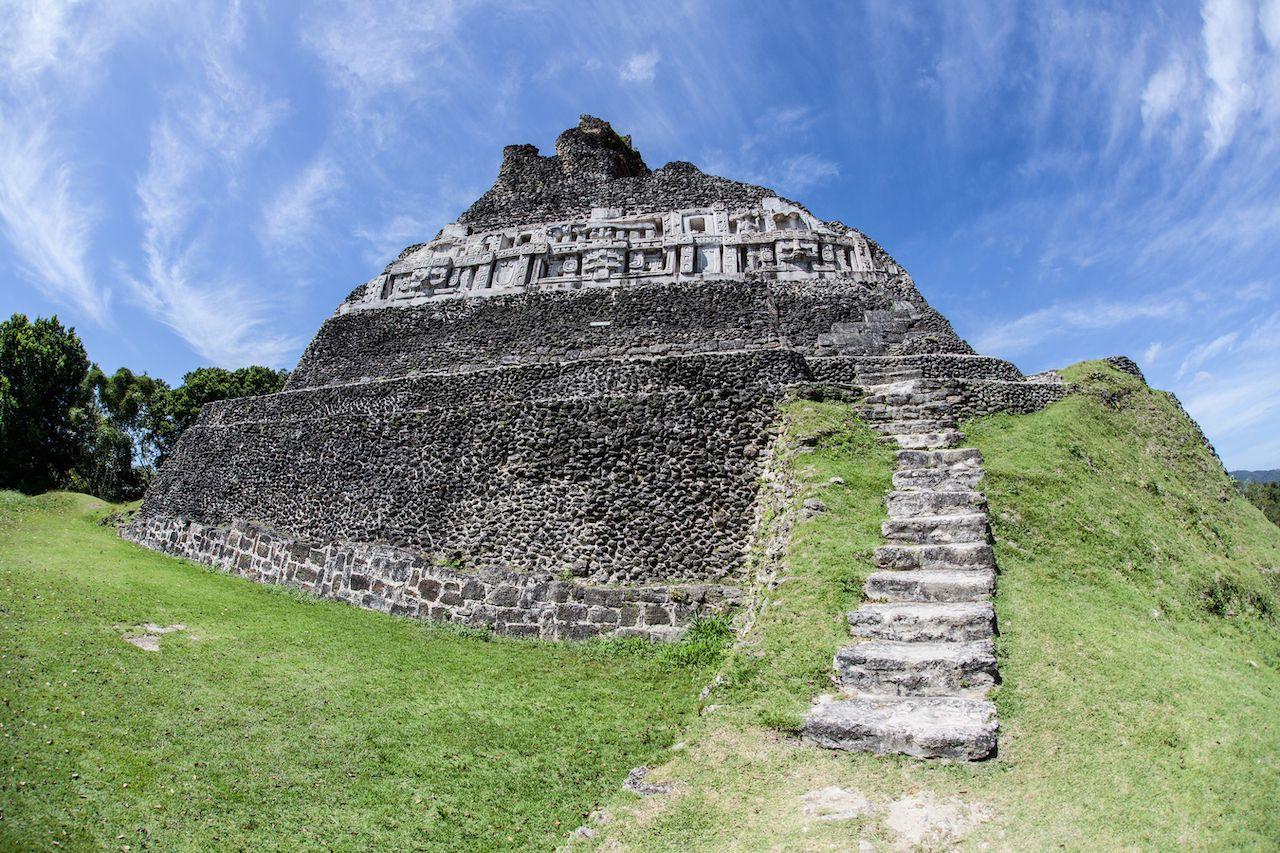 El Castillo pyramid in Guatemala