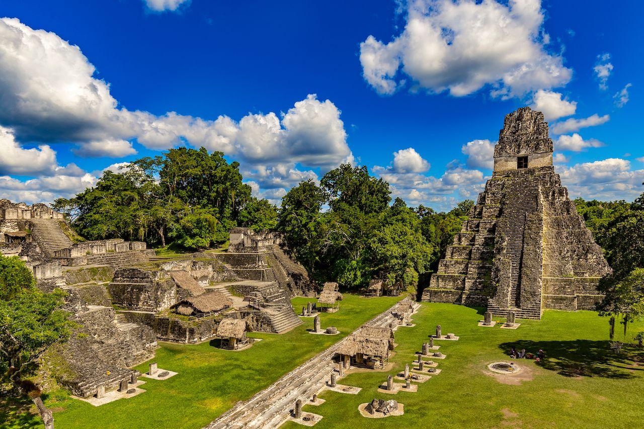 Great Jaguar Temple at Tikal National Park