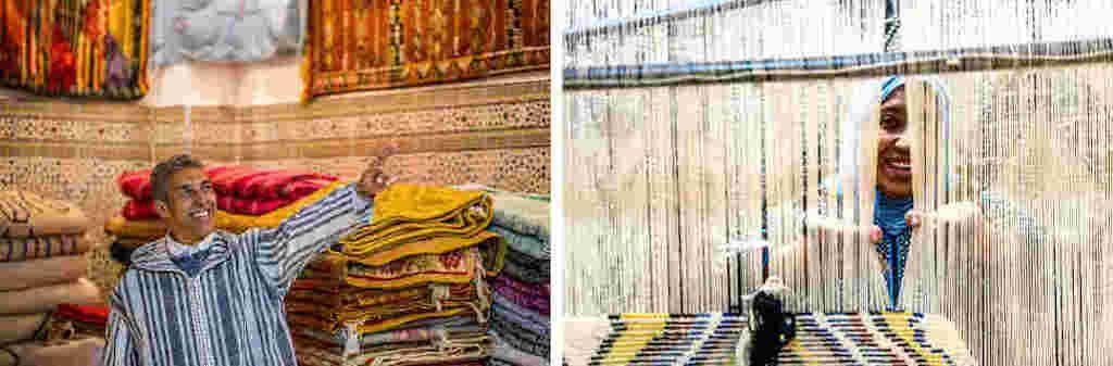Moroccan artisan