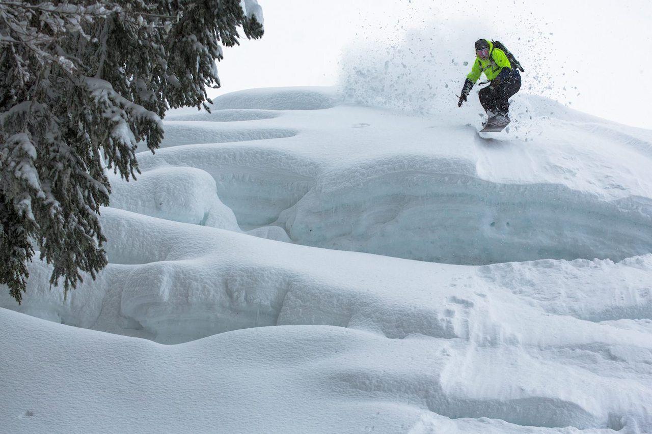 Mt. Baker snowboard