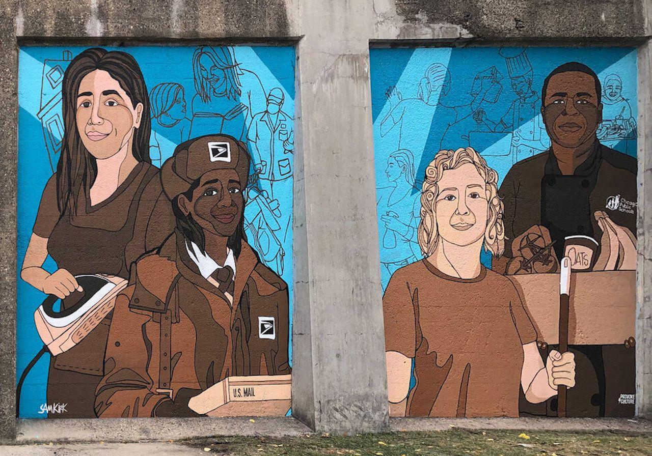 Sam Kirk street art