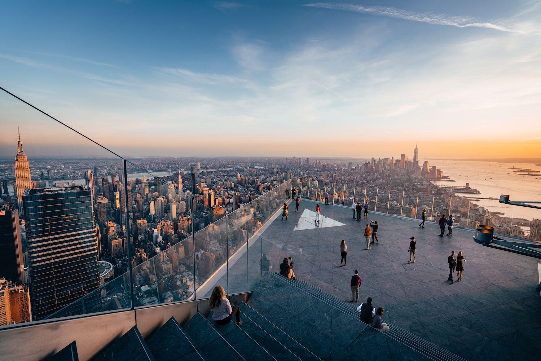 The Edge deck, New York City, US
