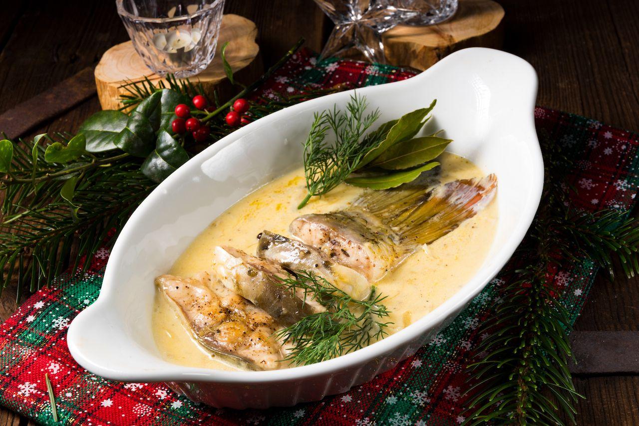 Traditional Swedish Christmas table