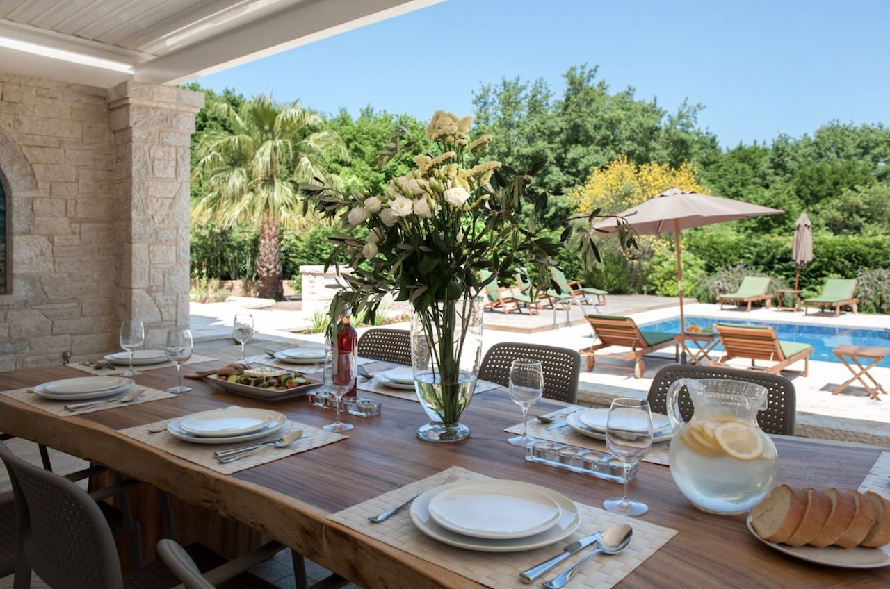 luxury Greek villa