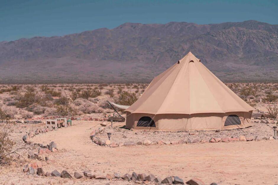 wonder valley yurts airbnb