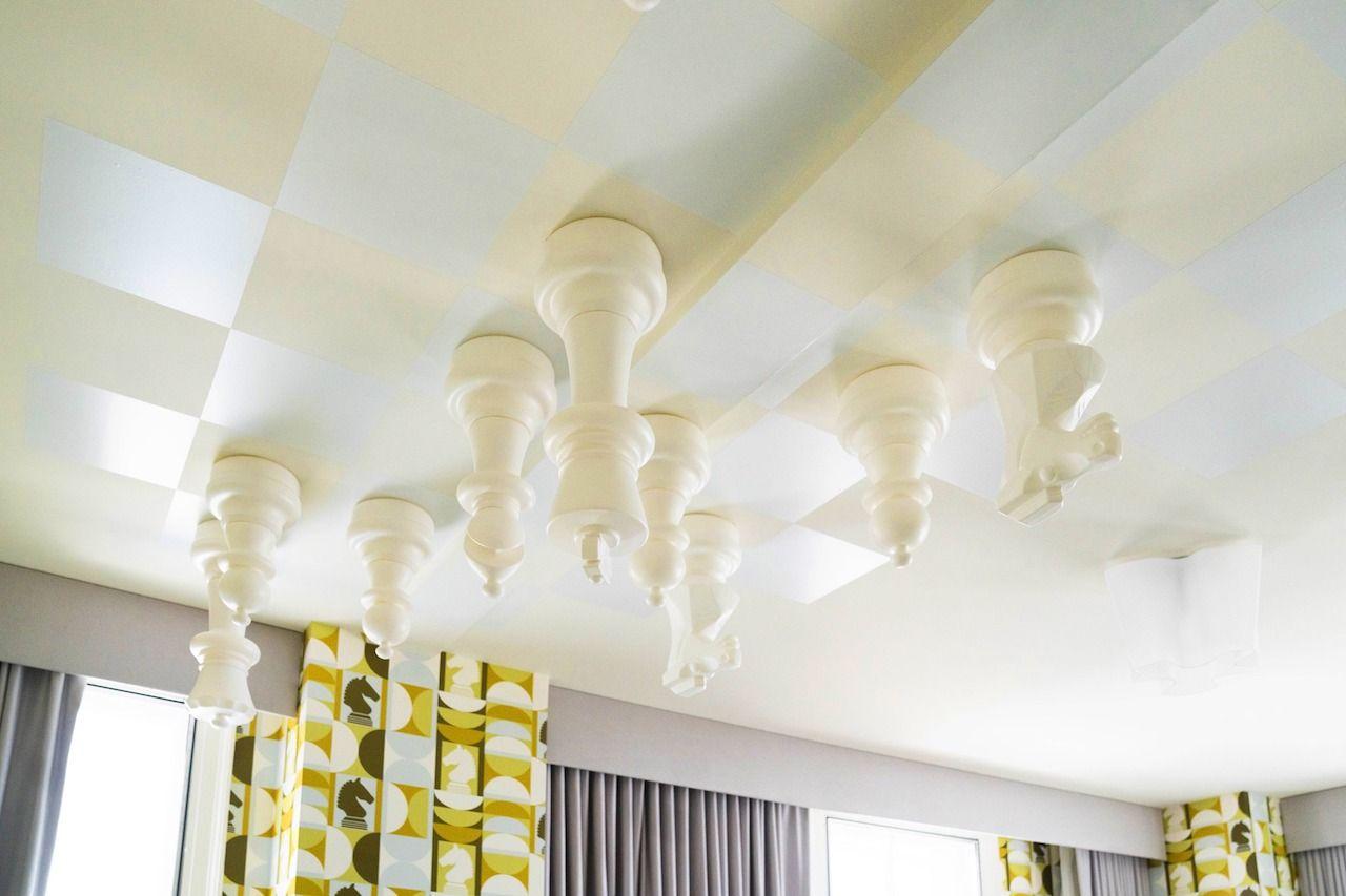 21c Museum Hotels ceiling