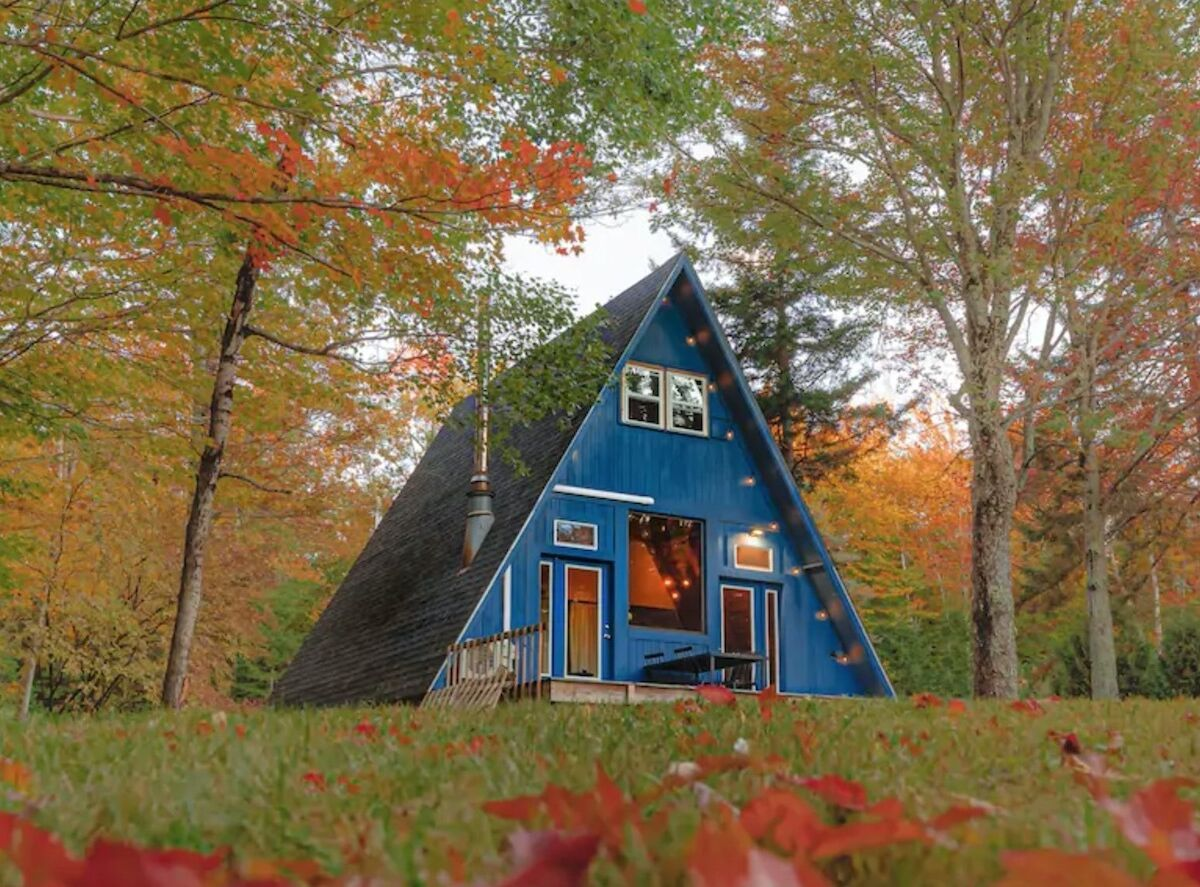 The 13 cutest A-frame cabins to rent in the Northeast