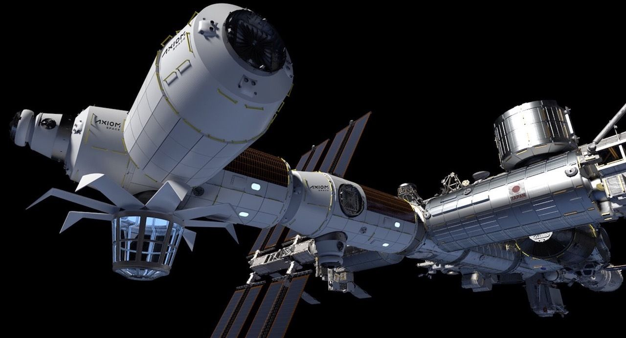 Axiom Commercial Space Station and Space Hotel