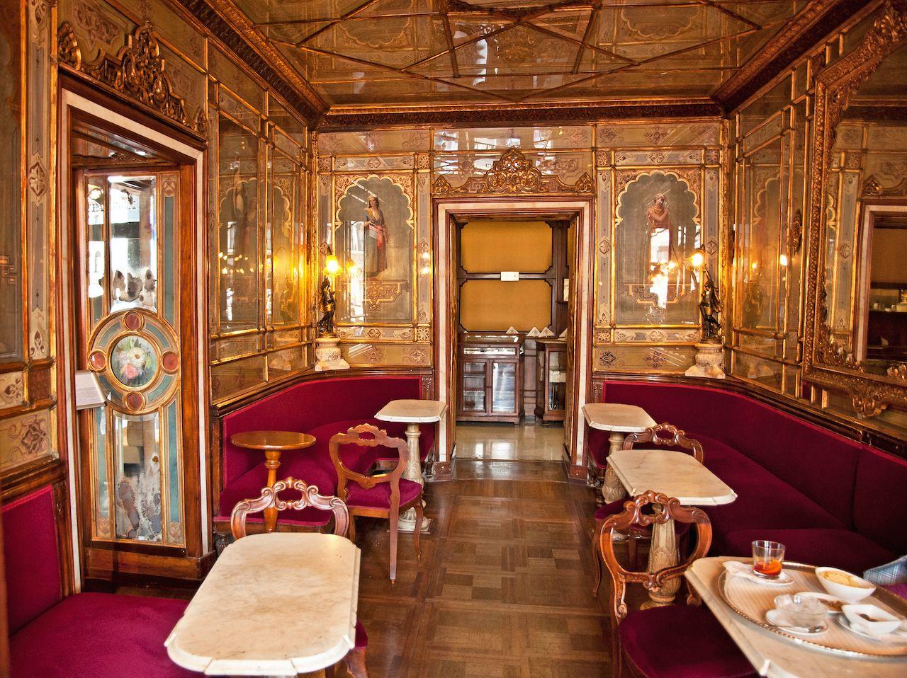 Caffe Florian in Venice