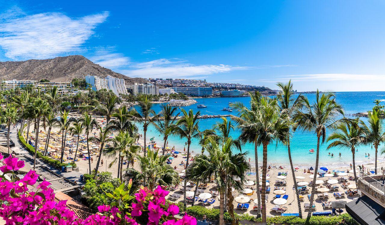 Gran Canaria, Span, beach