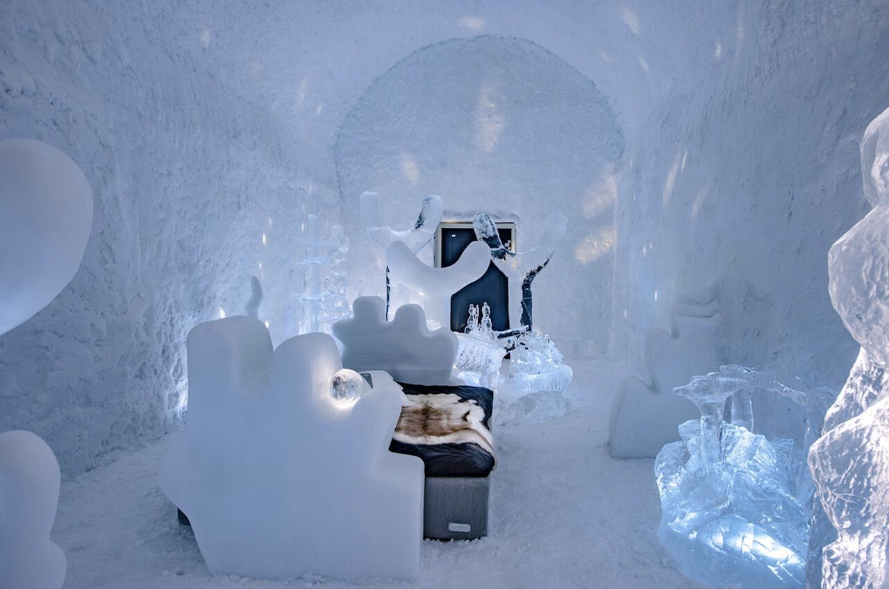 Icehotel in Lapland, Sweden