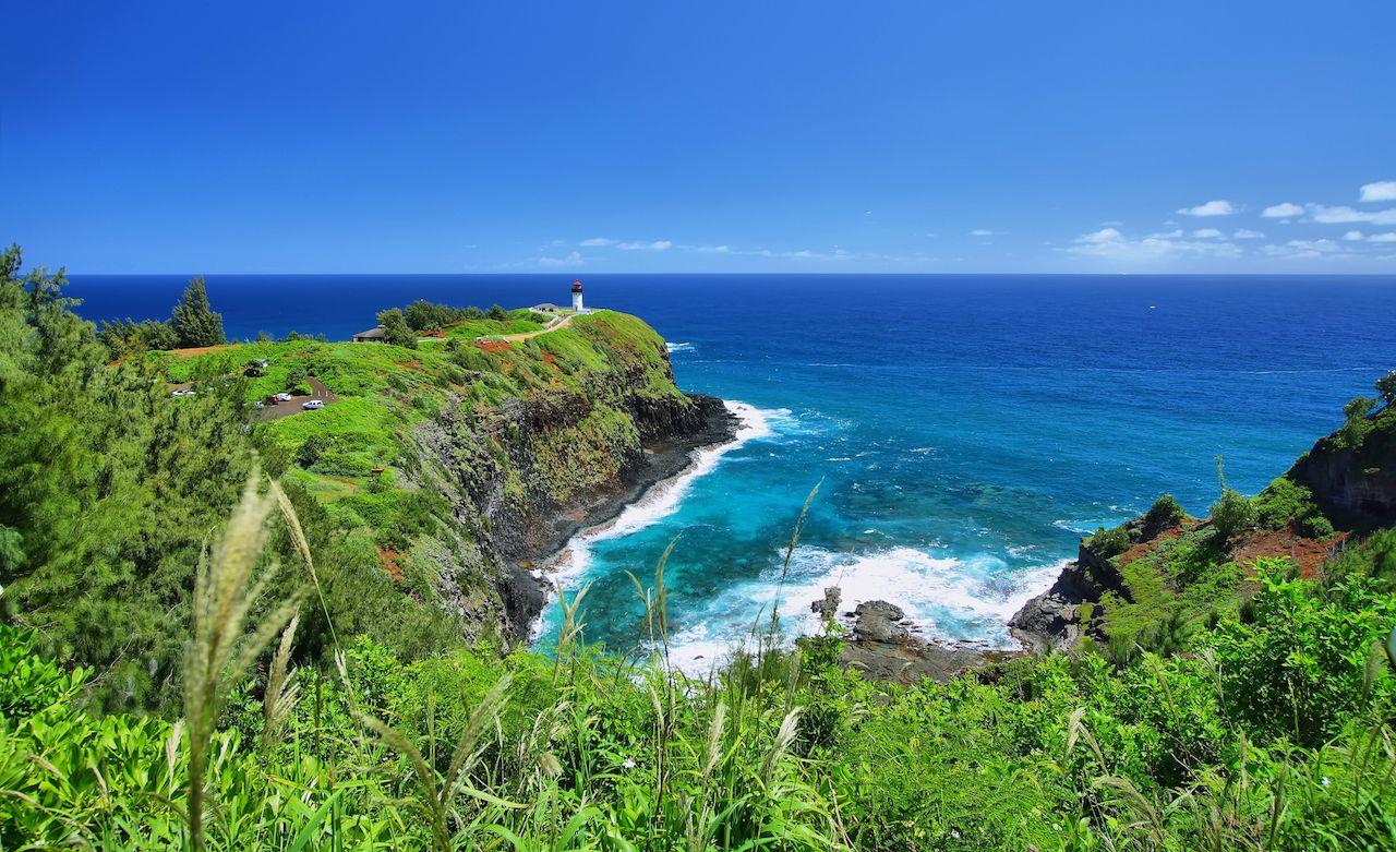 Kauai beaches in Hawaii