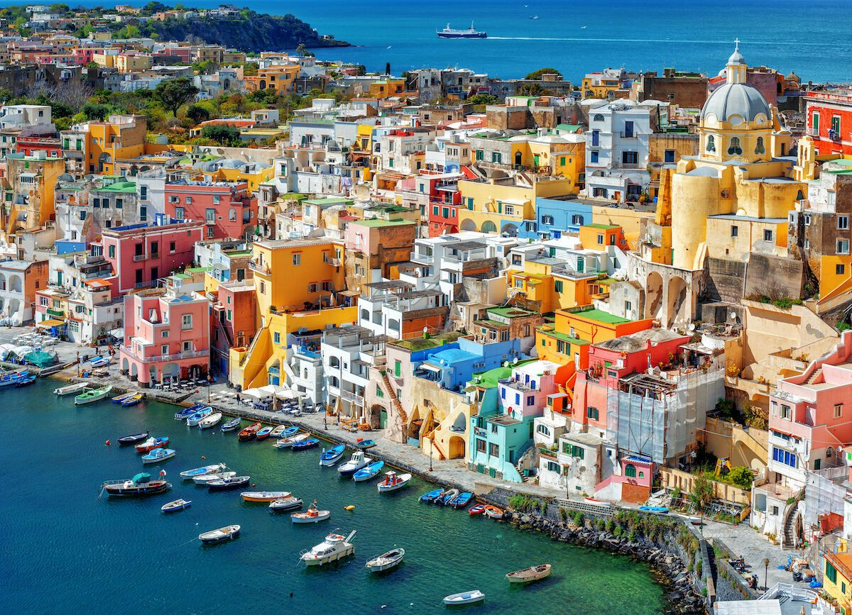 Italy's Capital of Culture for 2022 is a tiny, colorful island