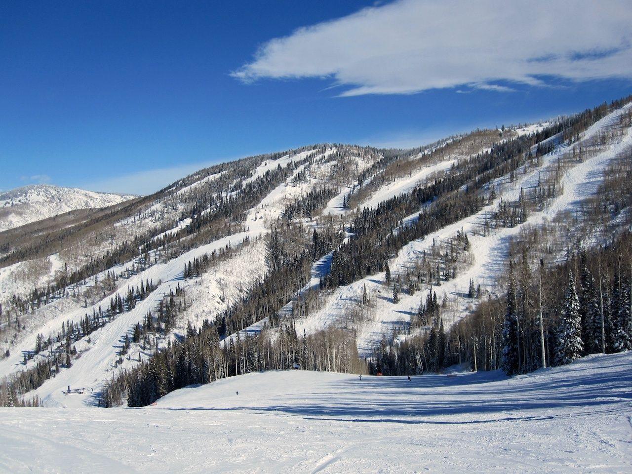 Steamboat Springs ski slope