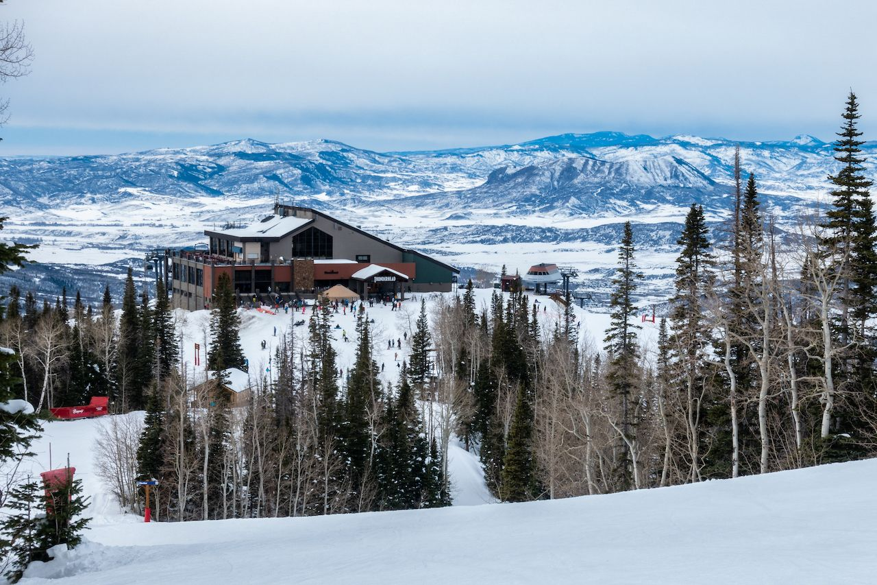 Thunderhead Lodge on Mount Werner of the Steamboat Springs Ski Resort