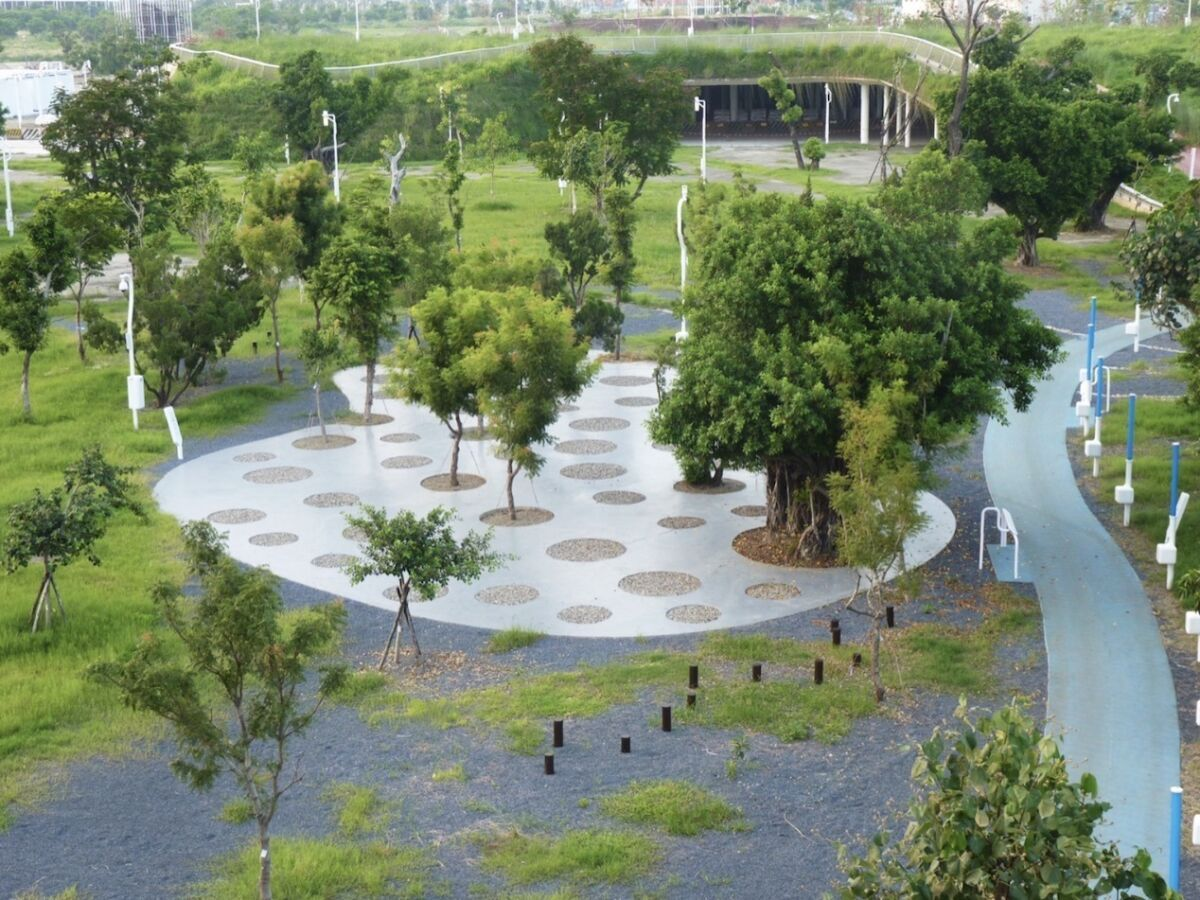This Taiwan airport has been transformed into a beautiful urban park