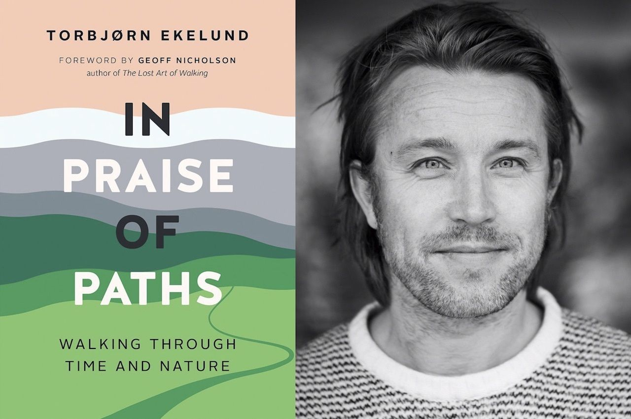 In praise of paths book cover and author photo