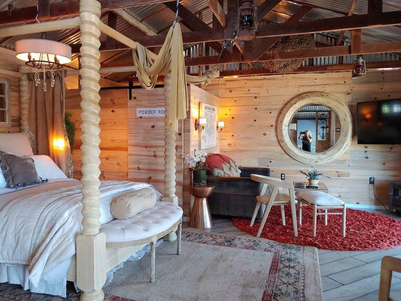 sanctuary airbnb