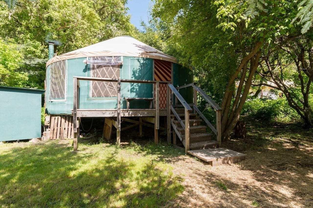 yurt airbnb