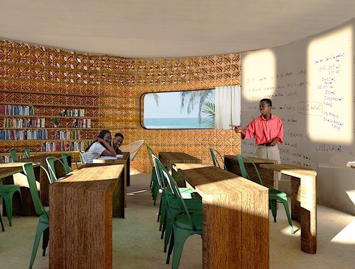 3-D printed school in Madagascar 2