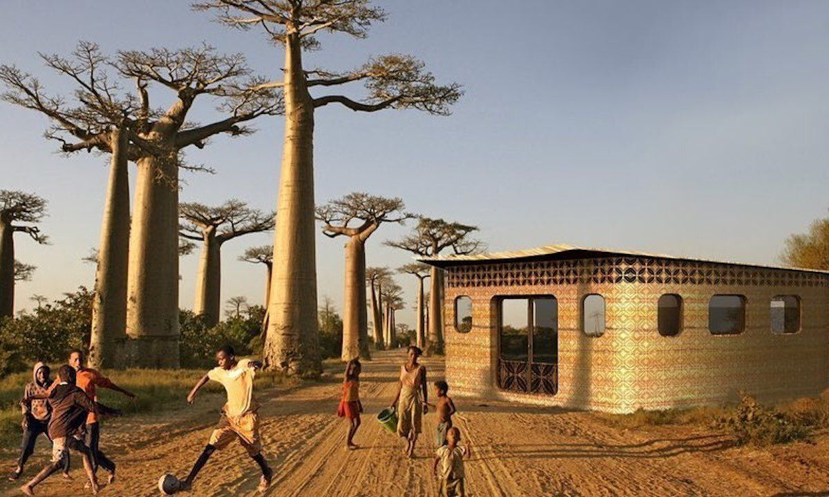 3-D printed school in Madagascar 4