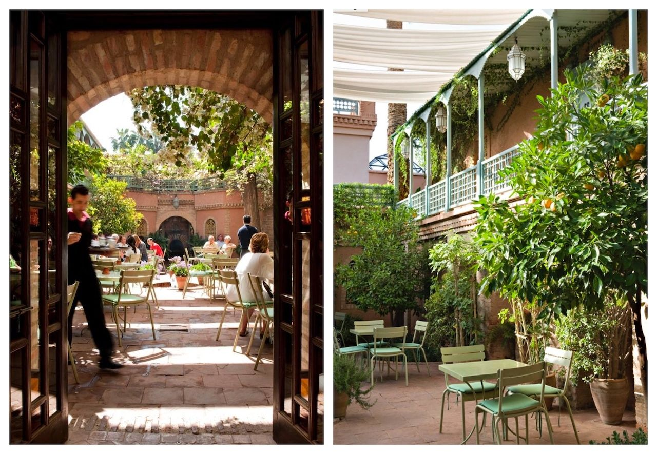 Cafe Majorelle
