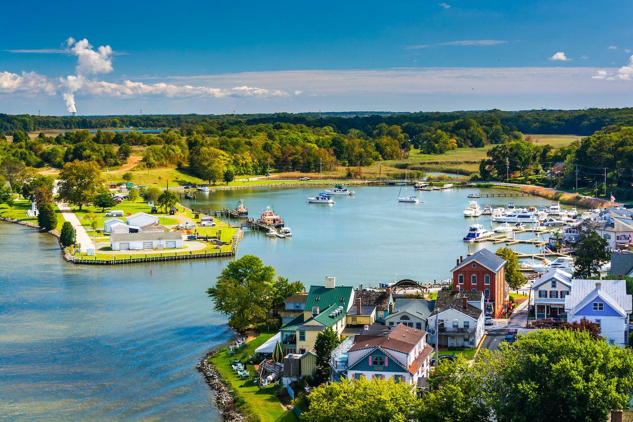 View of Chesapeake City