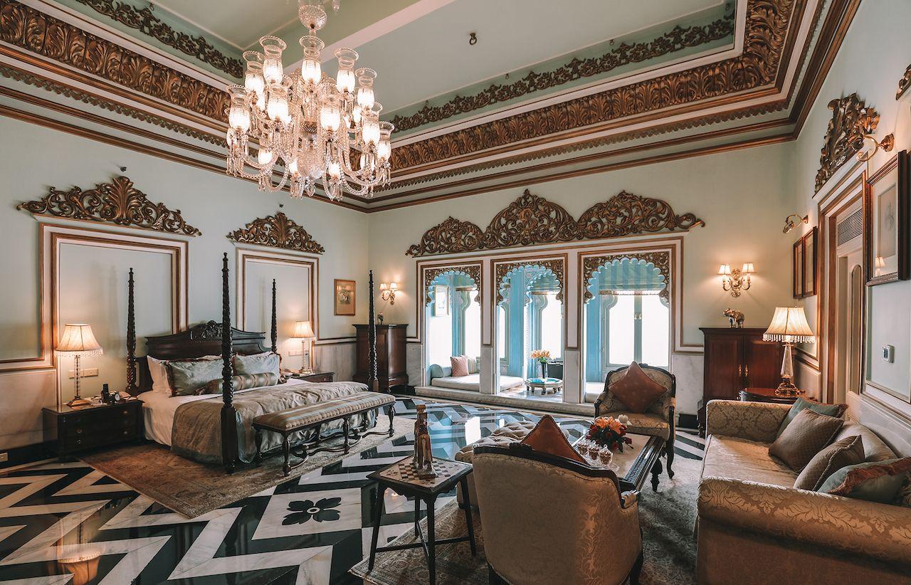 Taj Lake Palace Udaipur Interior
