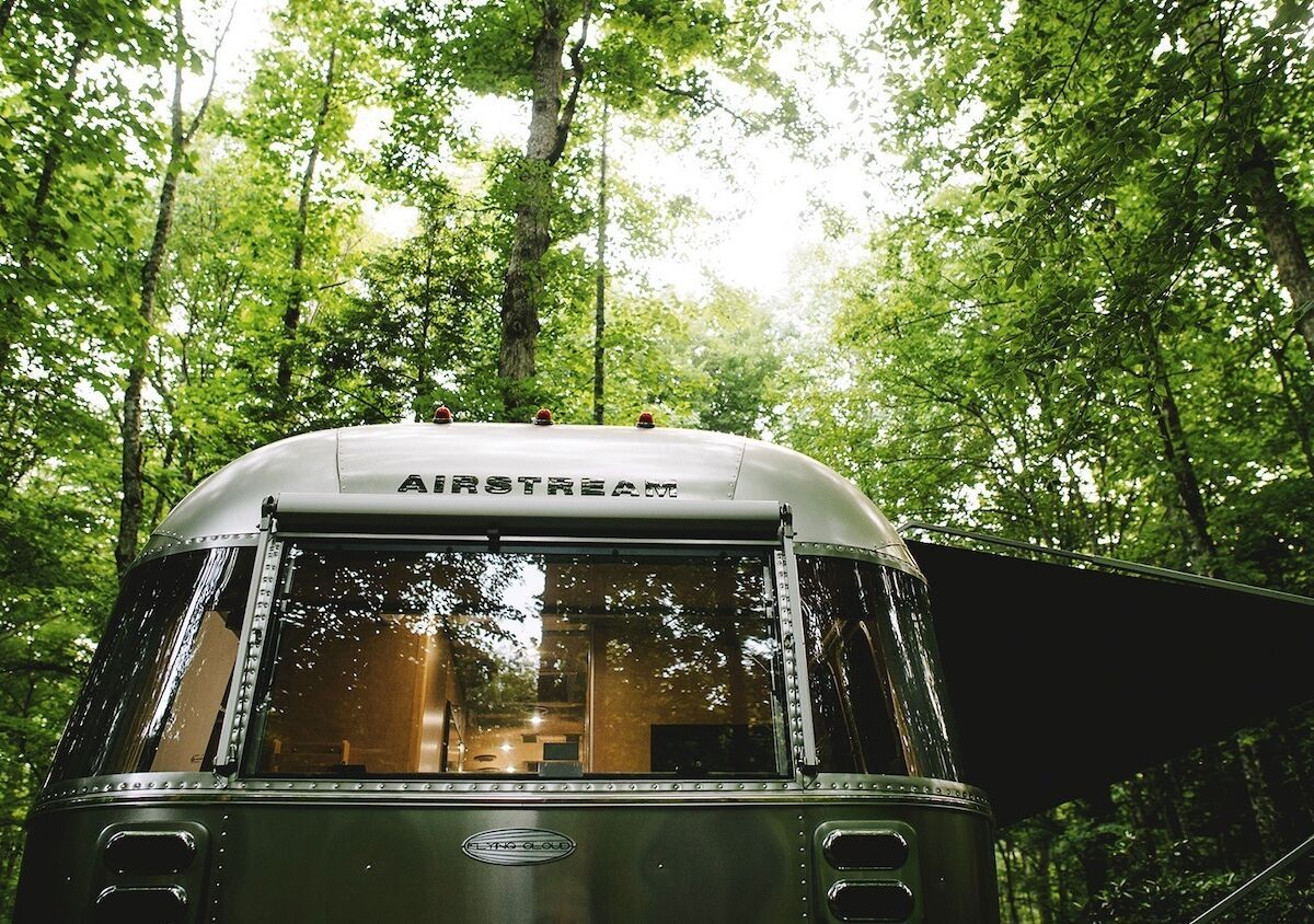 This new Airstream travel trailer was designed for digital nomads