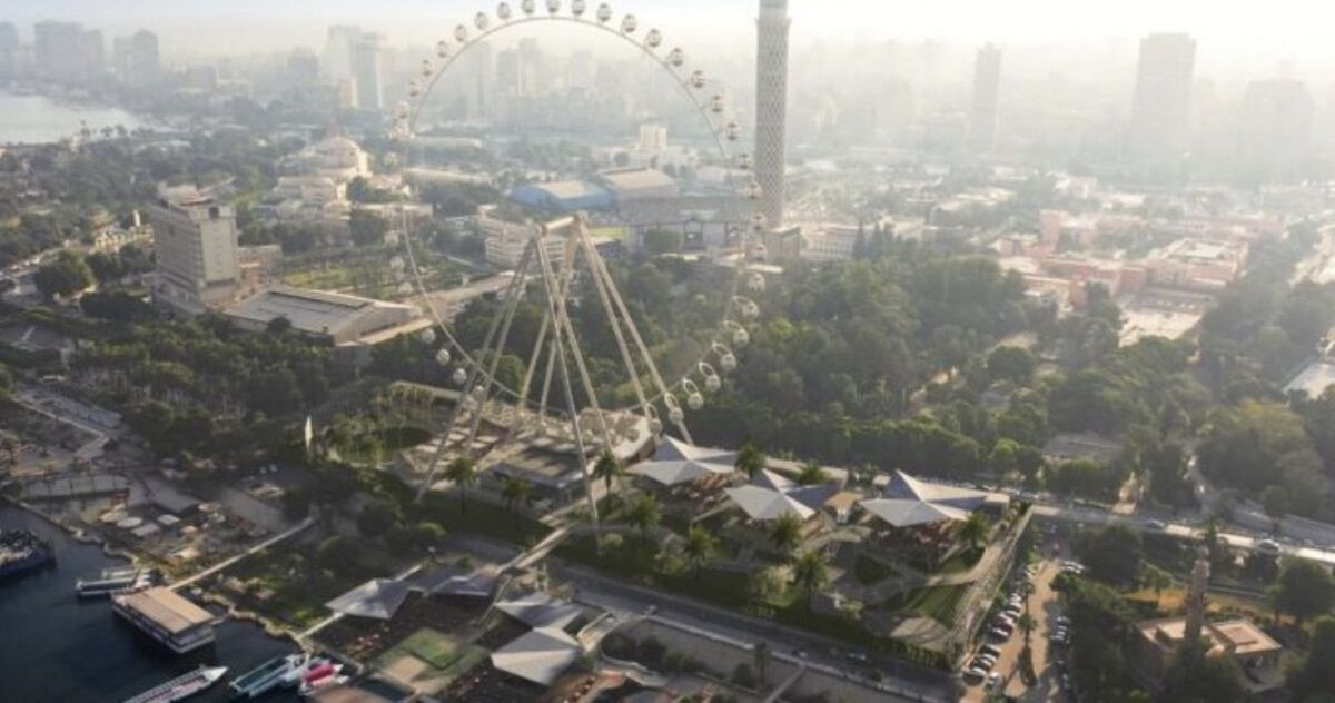 The largest observation wheel in Africa is coming to Cairo