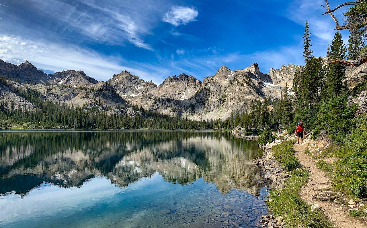 Alice Lake Sawtooth Mountain Wilderness, Idaho, what to do in Ketchum