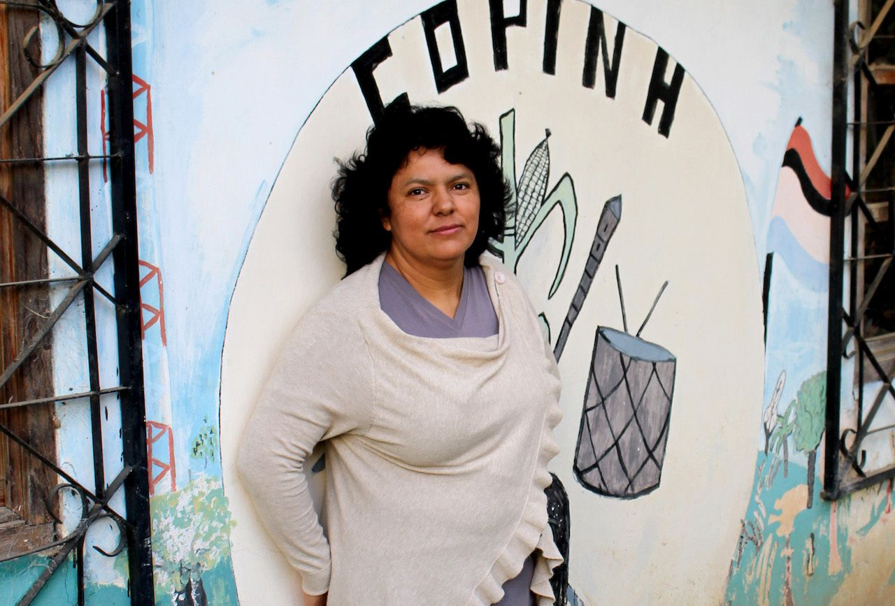 Berta Caceres, women environmental activists