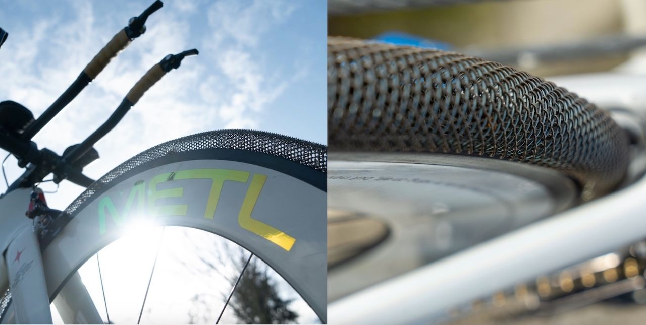 Bike tire that never goes flat